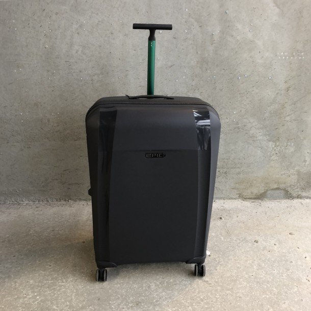 Flot Stor, bæredygtig kuffert - EPIC PHANTOM BIO | Cow Concept UI-77