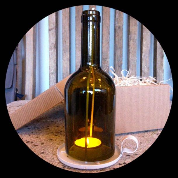 Flaskestage - Recycle Metal / Glas