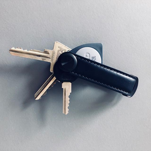 04d615aae1f Nøglering - Orbitkey<br/>Læder Black/Black - Accessories - COW CONCEPT